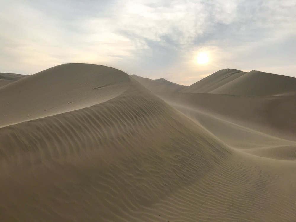 Huacachina Peru desert
