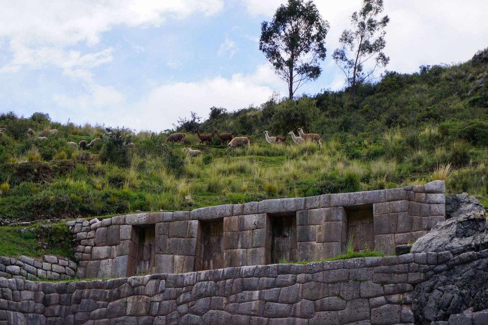 Sacred Valley Peru Inca ruins