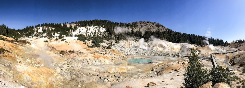 Lassen National Park Bumpass Hell Pass