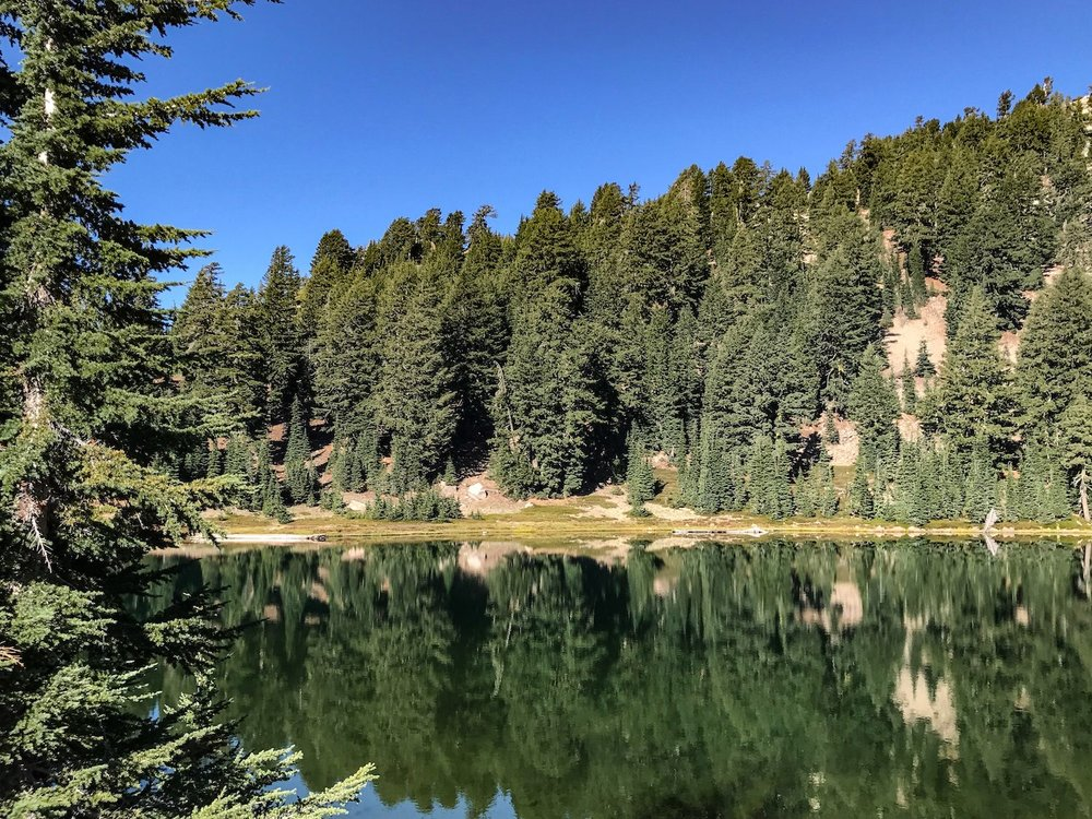 Lassen National Park Emerald Lake