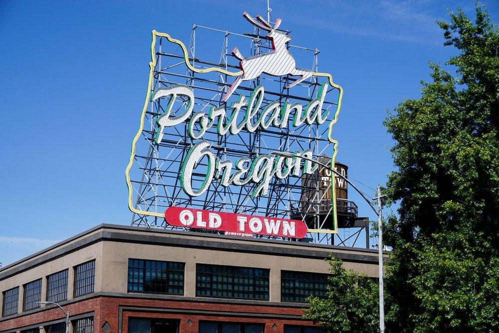 Portland Oregon travel