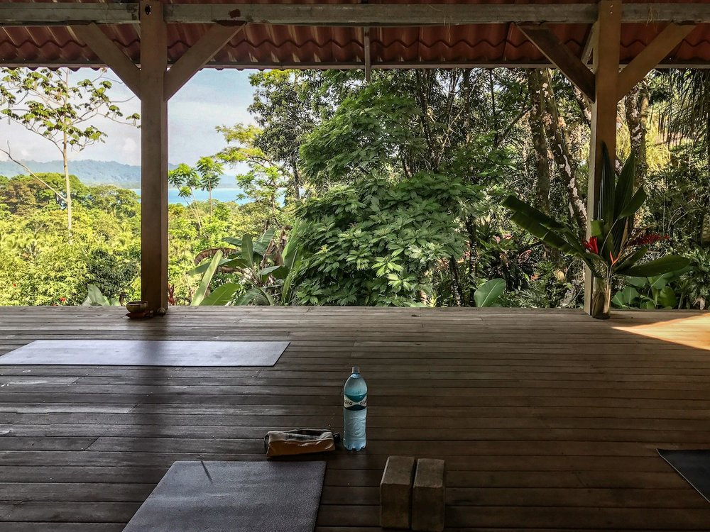 The Yoga Platform at   Om at Cashew Hill
