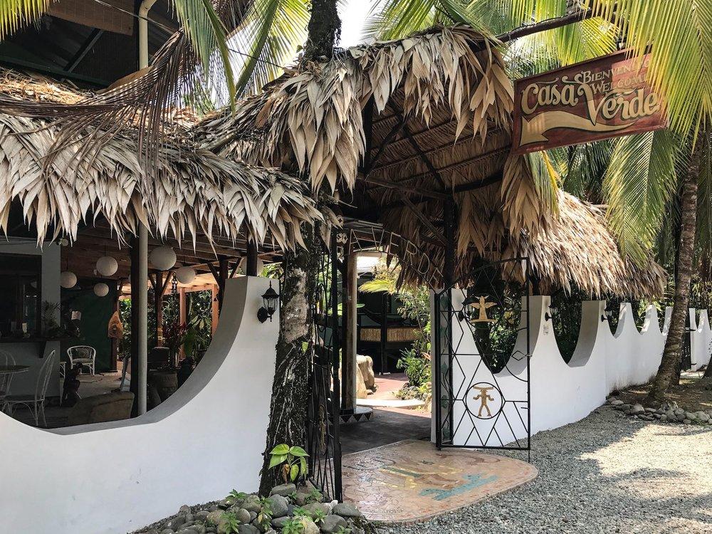 a hotel in Puerto Viejo Costa Rica