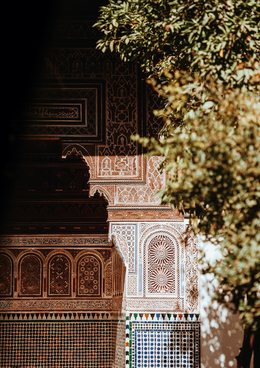 Marrakech tile close up | The City that Inspired Fashion Icon, Yves Saint-Laurent Most