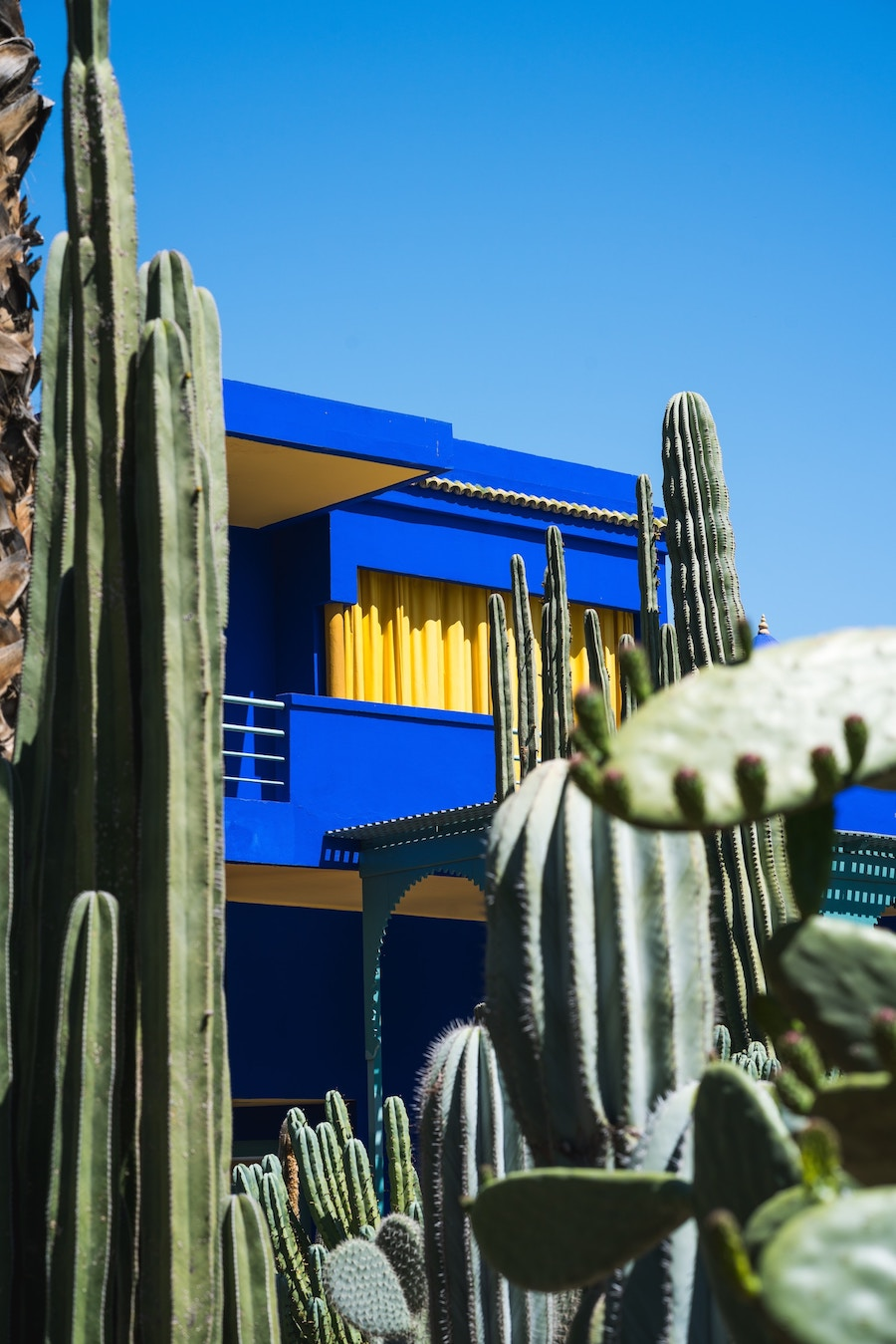 Majorelle blue | The City that Inspired Fashion Icon, Yves Saint-Laurent Most