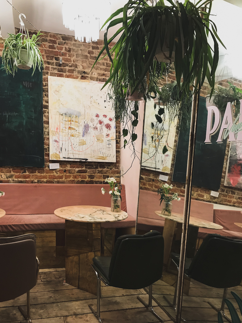 Palm Vaults cafe in London