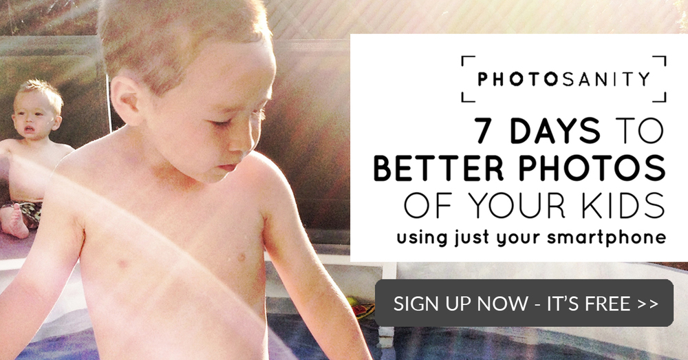 7 days to better photos of your kids