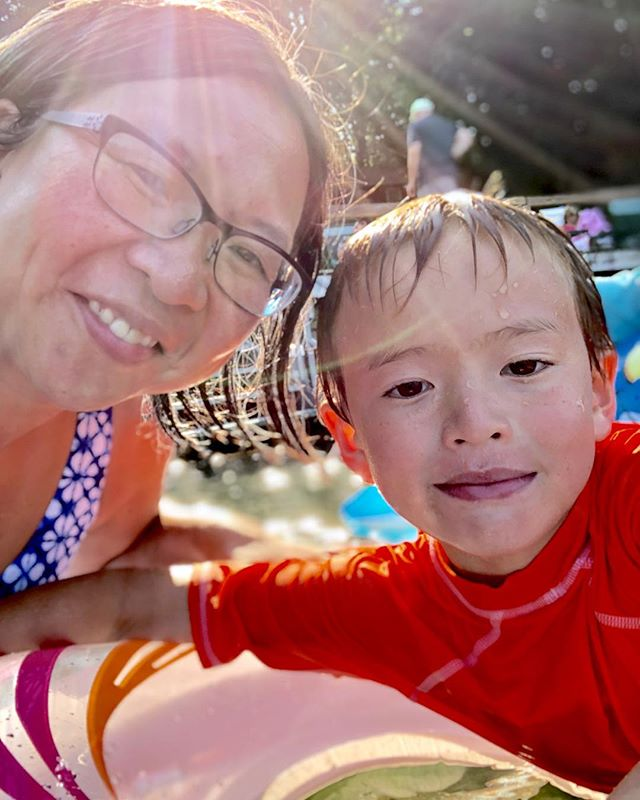 I'm not so much an IN the water person but swimming in the lake was amazing! . #photosanity #resiliencethroughjoy #womensleadership #womensleadershipcoach #photographycoach #parenting #motherhood #momlife #workingmomlife #sixyearsold #vacationlife #lakesideliving #lakegeorge #ilovevacation #ilovesummer #ilovemylife #ilovemykids #capturethemoment #bepresent #gratitudedaily #loveisresistance
