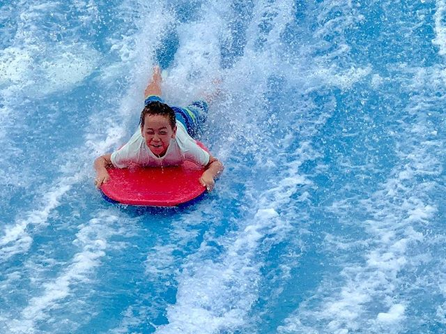 He didn't wipe out once! . #photosanity #resiliencethroughjoy #womensleadership #womensleadershipcoach #photographycoach #parenting #motherhood #momlife #workingmomlife #nineyearsold #waterpark #ugiwaverider #campingvacation #endofsummer #ilovemylife #ilovemykids #capturethemoment #bepresent #gratitudedaily #loveisresistance
