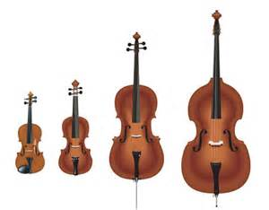 Violin    Viola   Cello       Bass