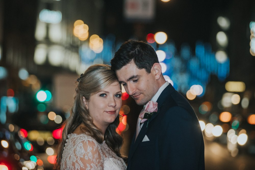 Wedding photography on The Strand