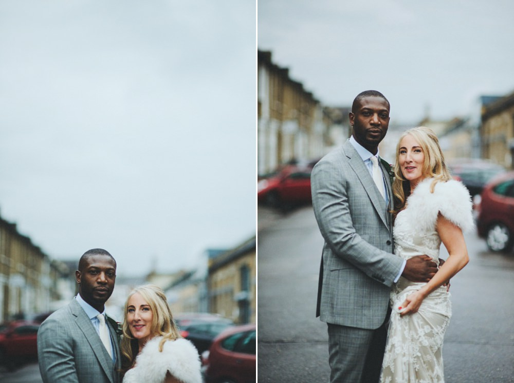 Alternative wedding photography in london