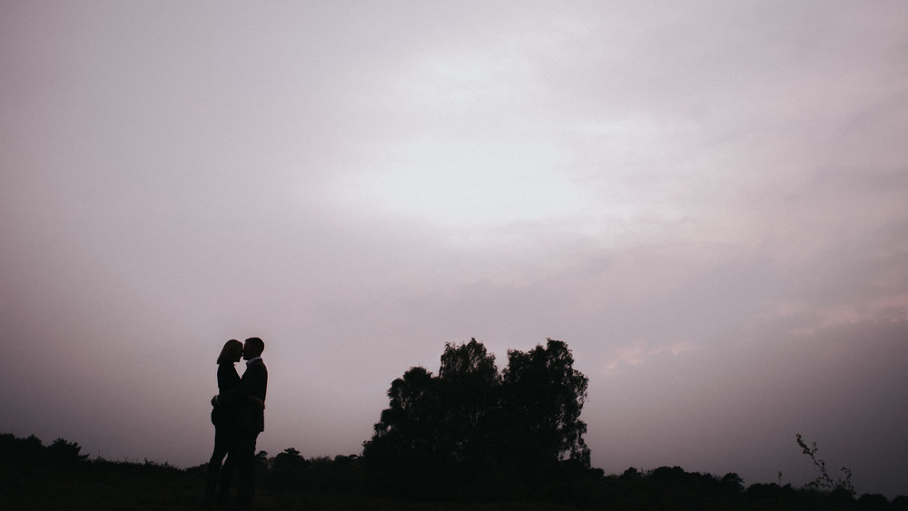 Ashdown forest pre wedding shoot