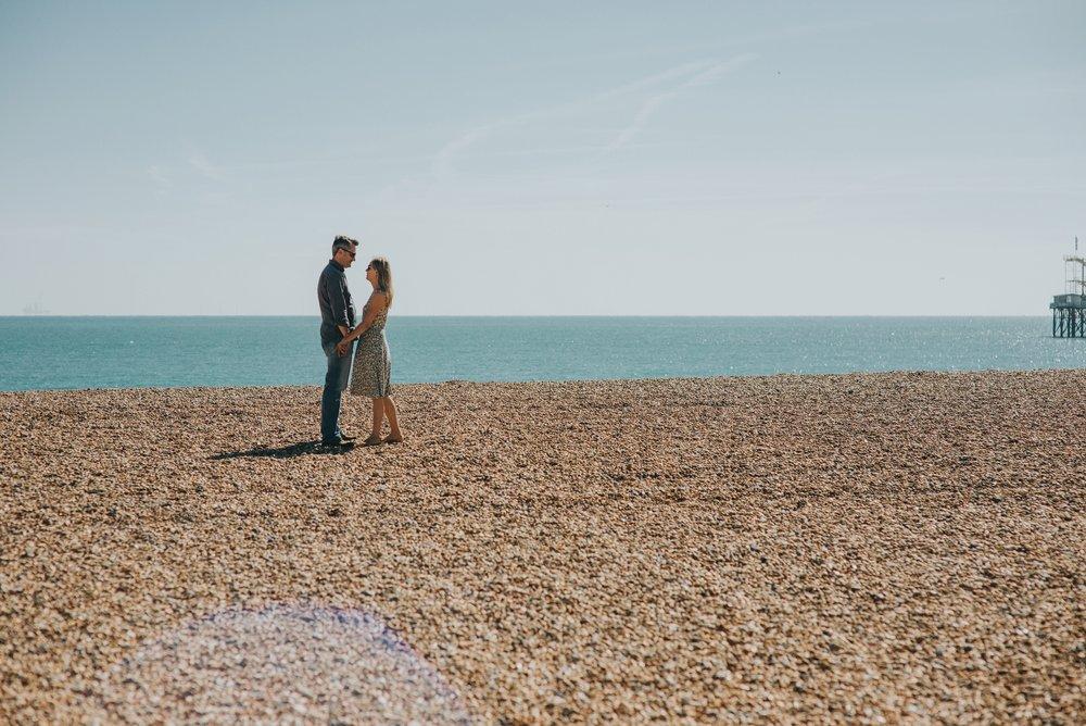beach pre-wedding shoot