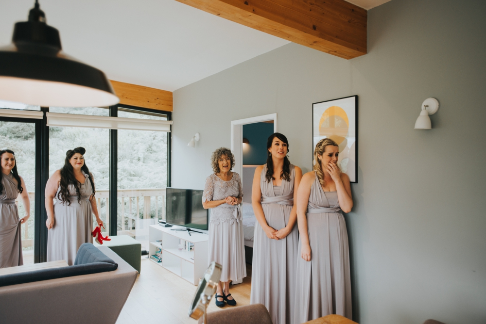 Bridal prep photos