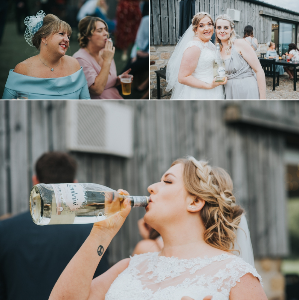 Creative alternative wedding photography