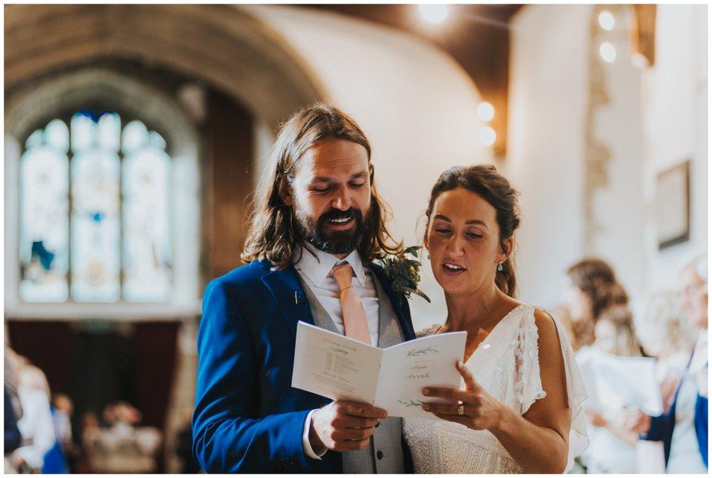 church wedding alternative photography