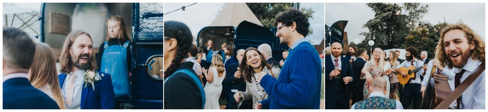 groom speech wedding kent tipi