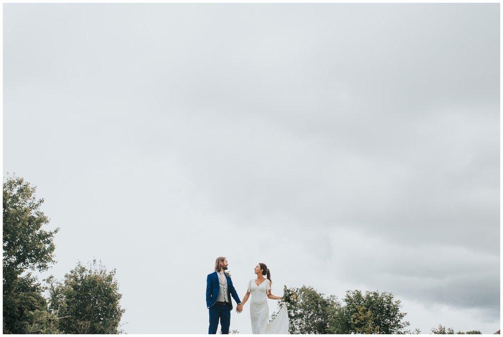 creative alternative wedding portraits, kent wedding photographer