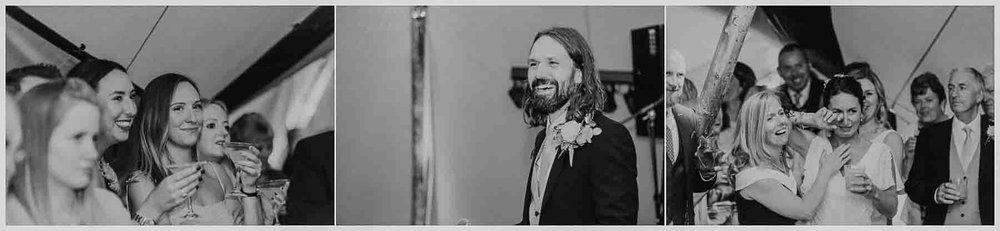 groom speech wedding kent tipi