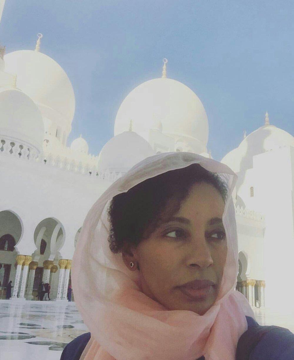 Lenny in Abu Dhabi