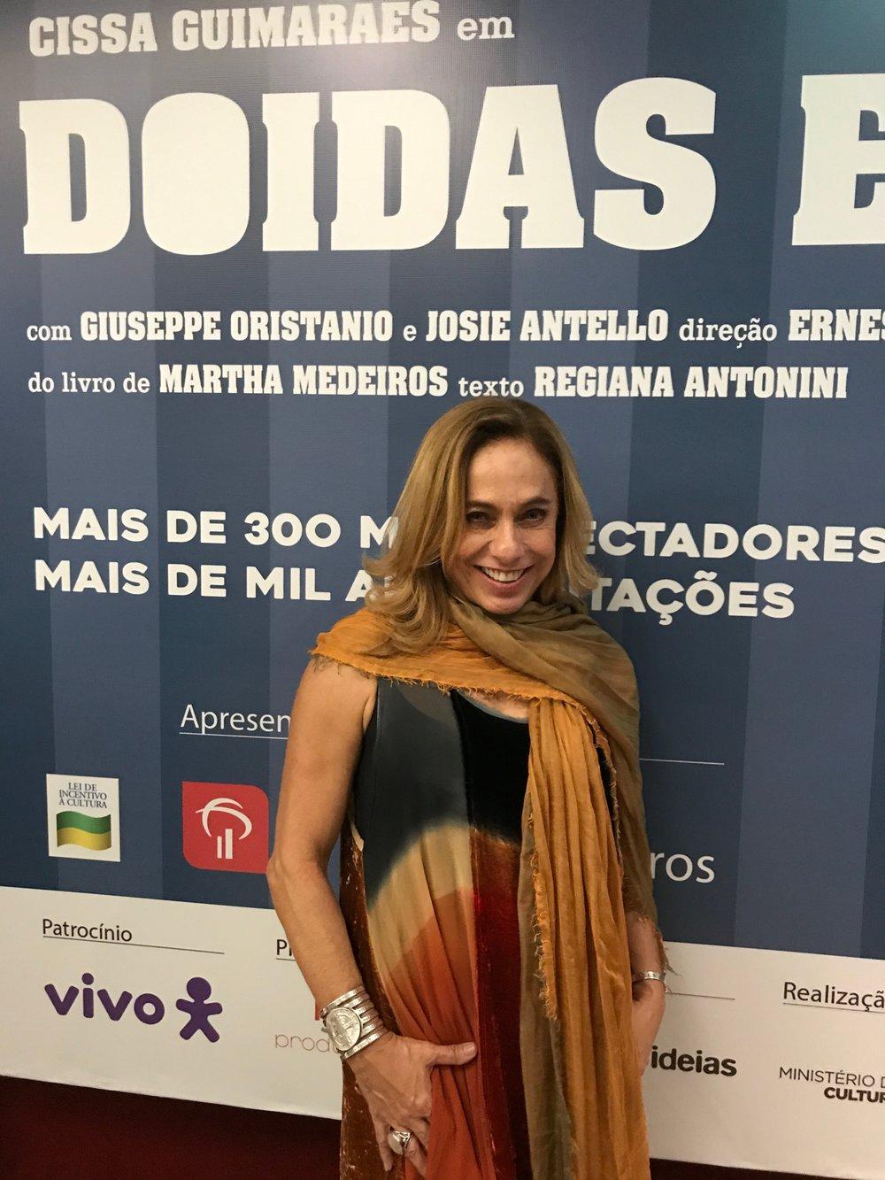 Cissa in Rio