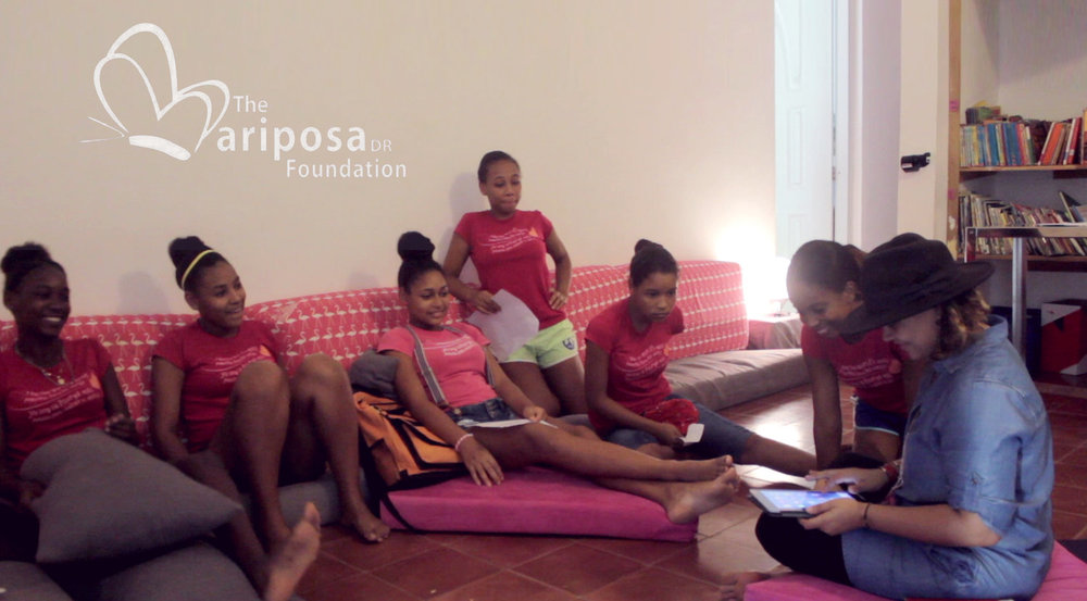 The Mariposa DR Foundation  Animation workshop for the Mariposa DR Foundation. A foundation in the Dominican Republic to educate and empower girls to create sustainable solutions to end generational poverty.