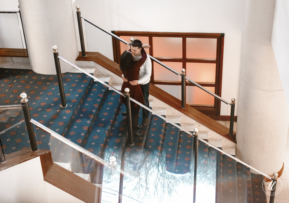 celtic manor spa stairs