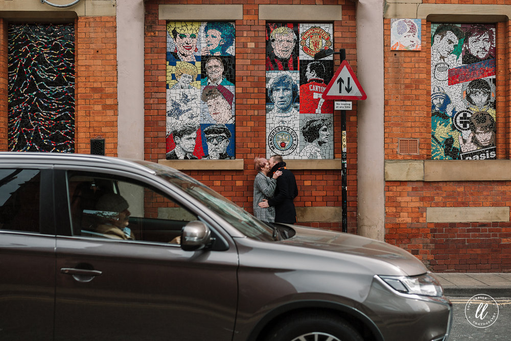 passing car- northern quarter manchester
