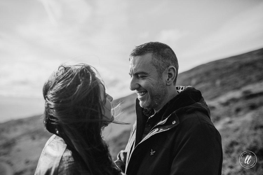 emotive couple photography north wales