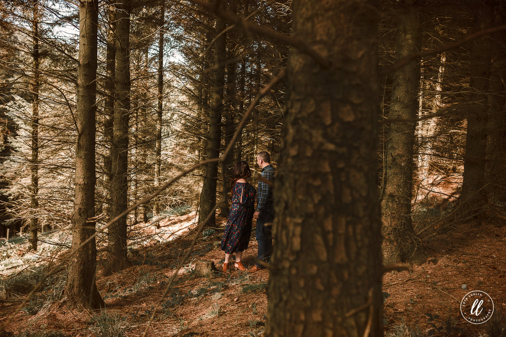 woodland couple shoot north wales