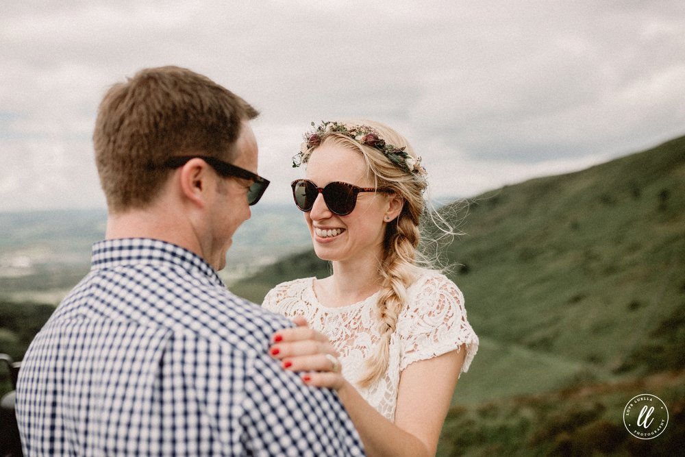 North Wales Wedding In Raybans