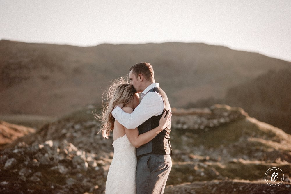 Elopement In Snowdonia North Wales