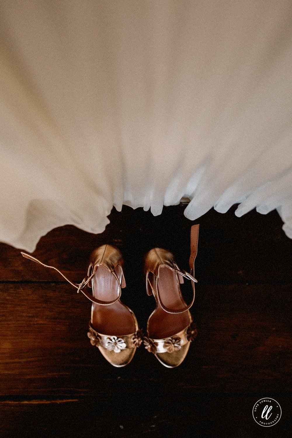 The Rose Gold Topshop Wedding Shoes