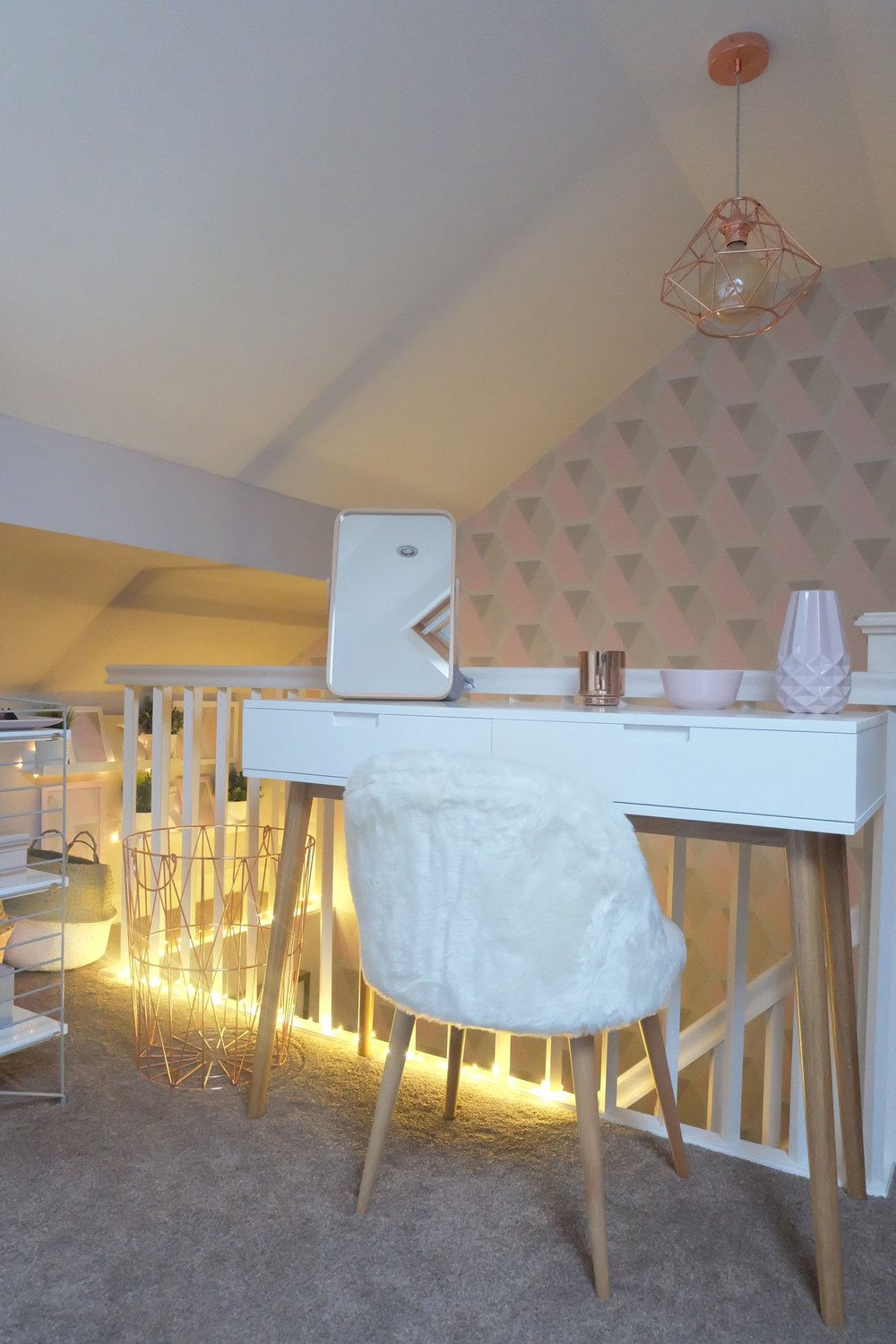 Dotty Dishes Loft Bedroom Restyle