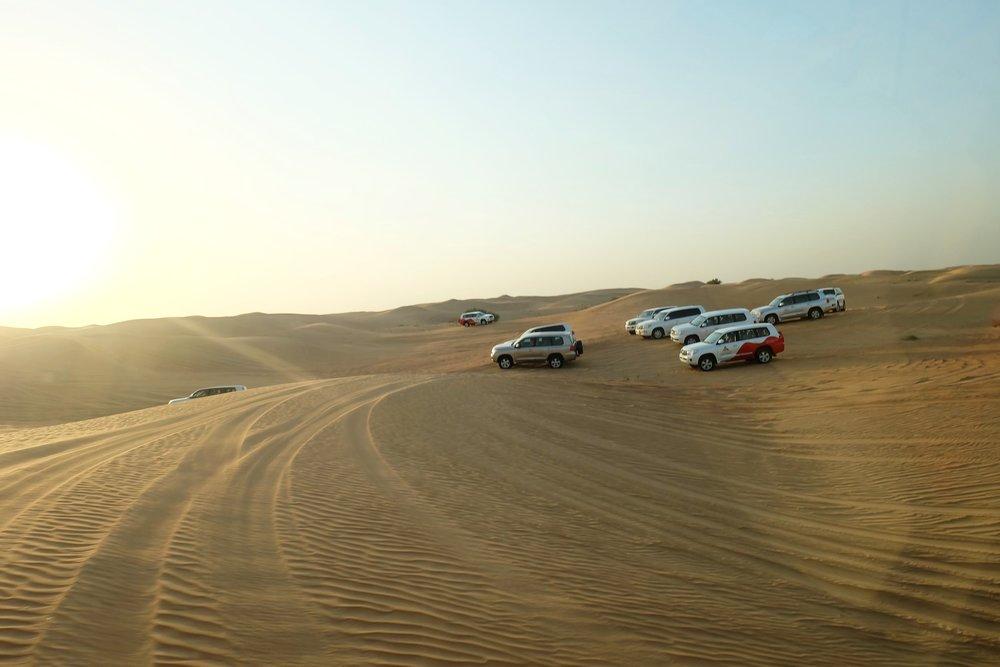 Dubai Sand Dune Bashing