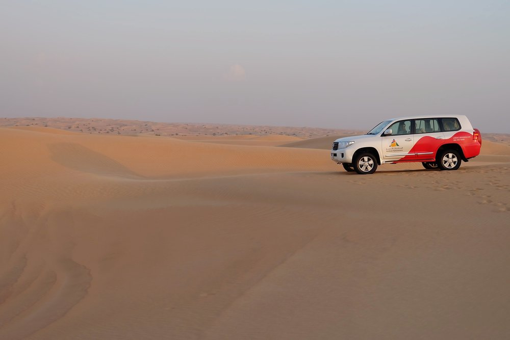 Dubai Sand Dune Bashine