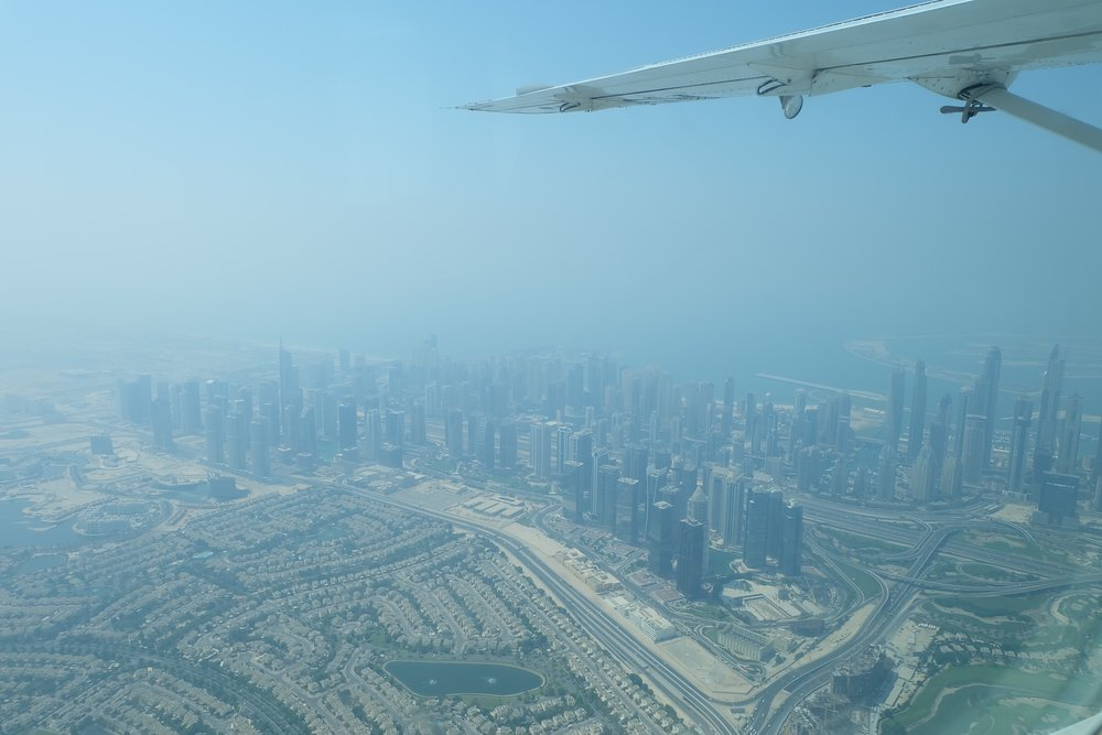 Dubai Skyline for Seawings Seaplane