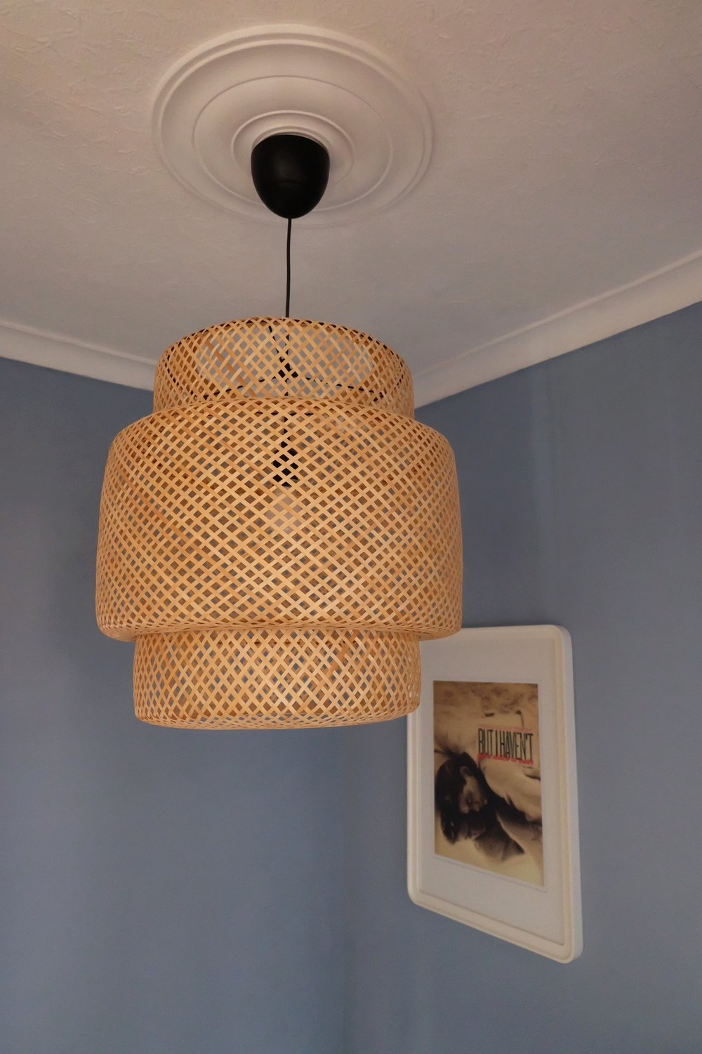Ikea Ilse Crawford rattan light