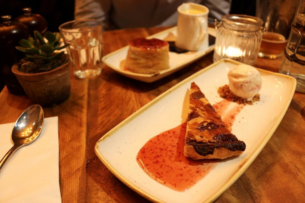 Dotty Dishes - Desserts at The Fentiman Arms London