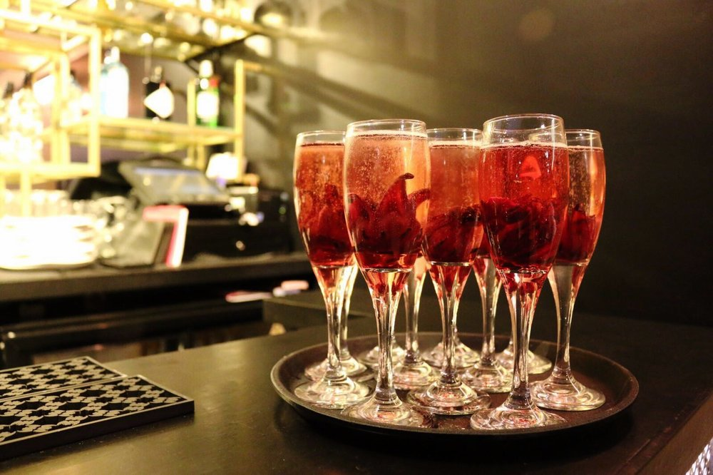 Dotty Dishes cocktails at Miusan London