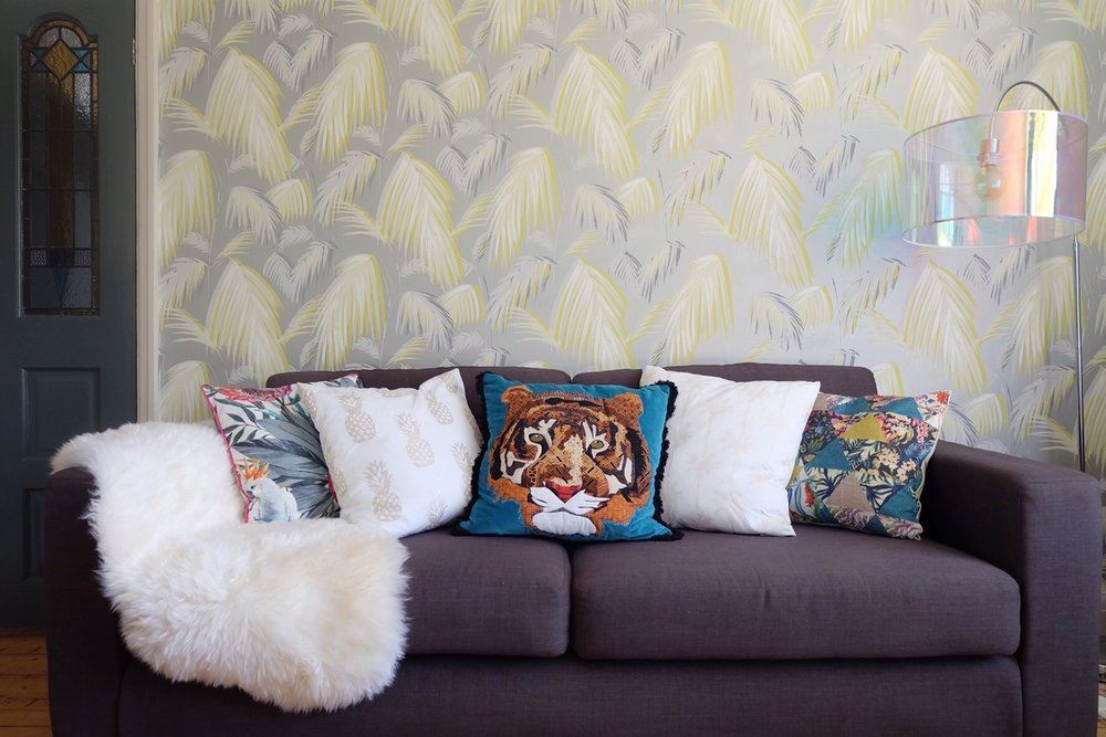 Dotty Dishes Debenhams Home Tiger Cushion
