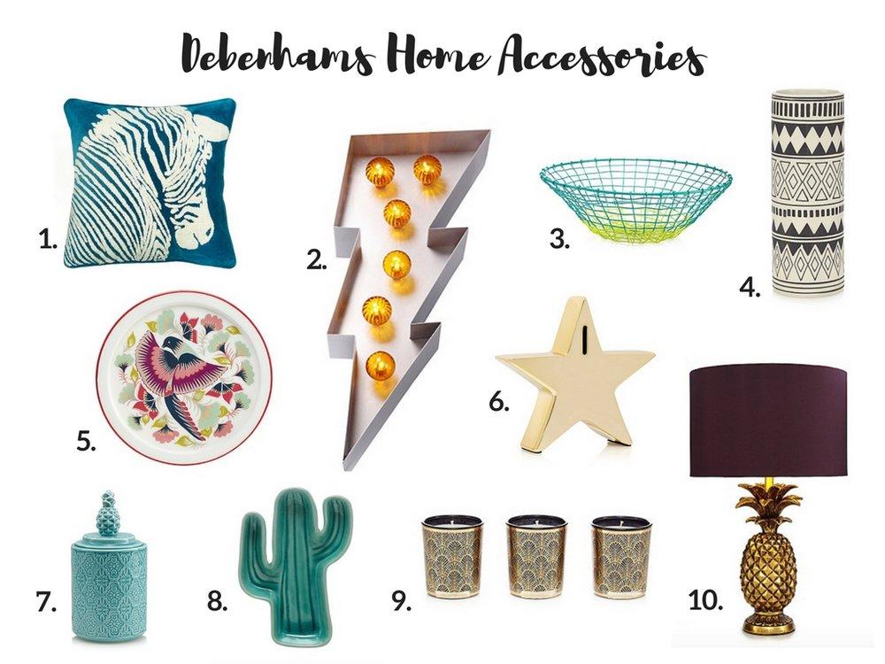 Dotty Dishes Debenhams Home Accessories