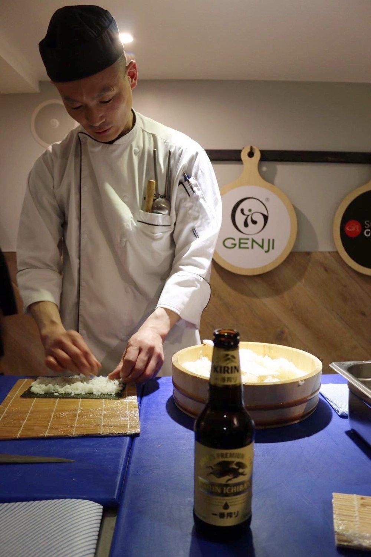 Sushi Gourmet sushi making