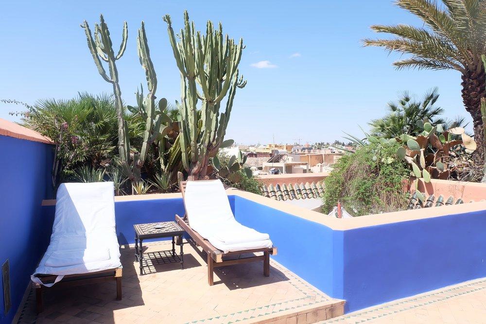 Riad Farnatchi Marrakech & Majorelle Blue
