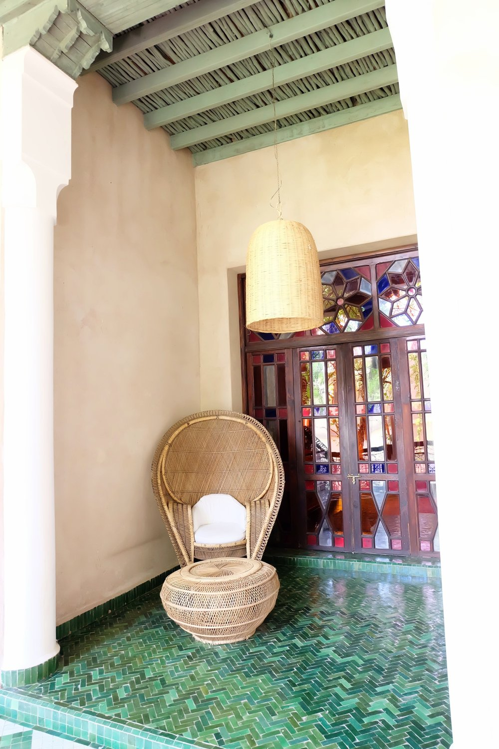 Rattan at El Fenn Marrakech