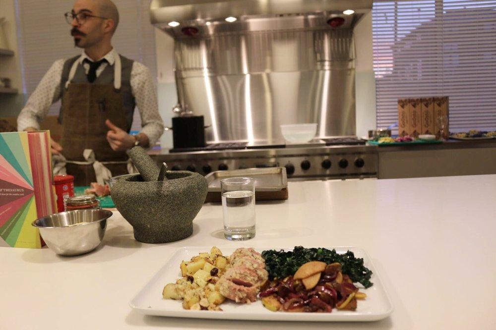 Gousto cookery masterclass