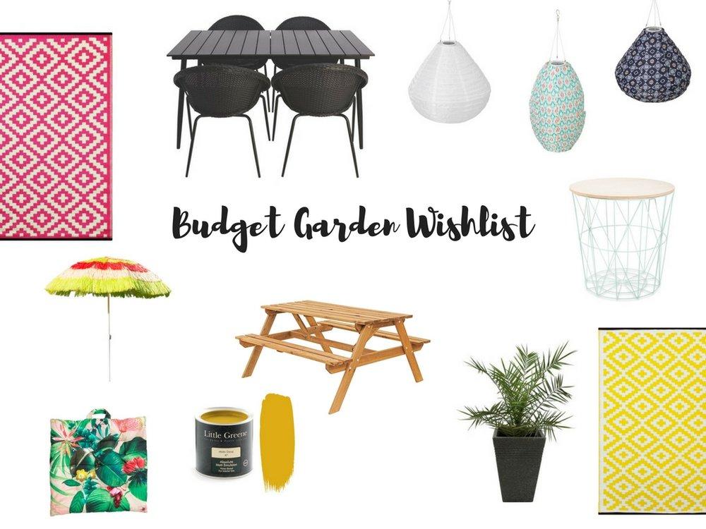 Budget Garden Makeover Ideas