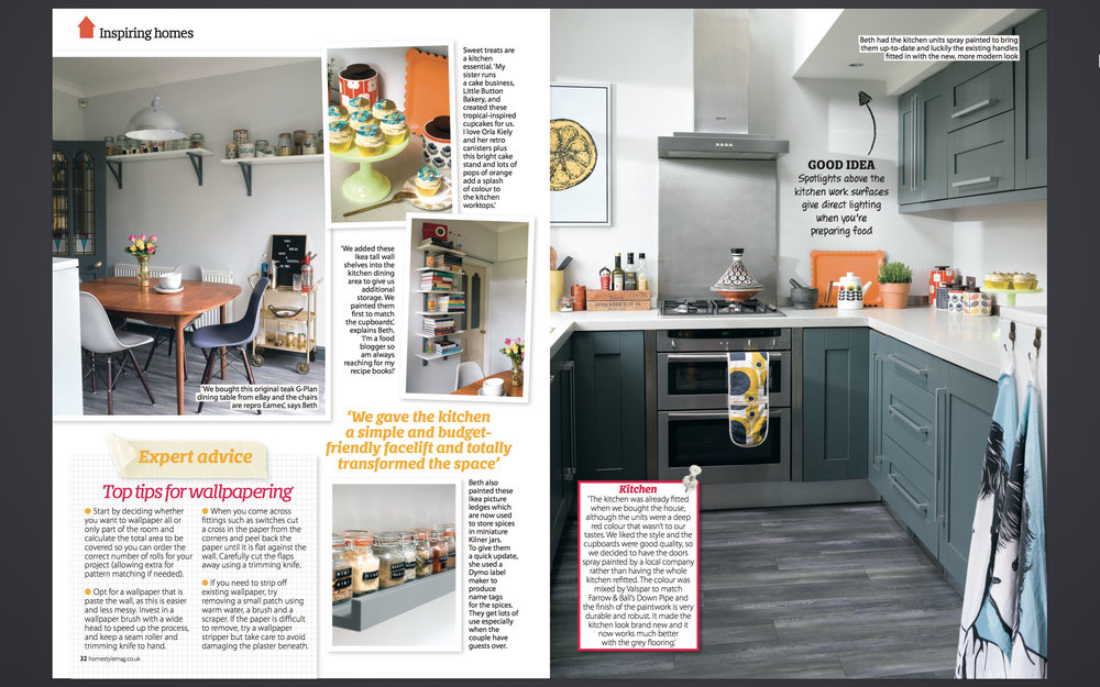 Home Style magazine interiors feature