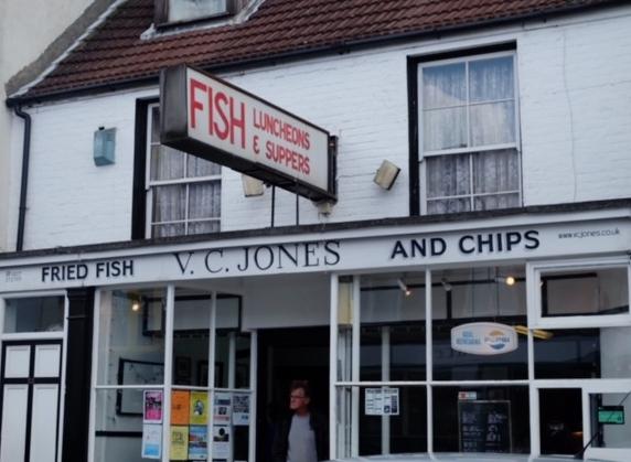 Retro Fish & Chip Shop